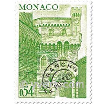 n° 46/49 -  Selo Mónaco Pré-obliterados