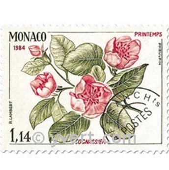 n° 82/85 -  Selo Mónaco Pré-obliterados