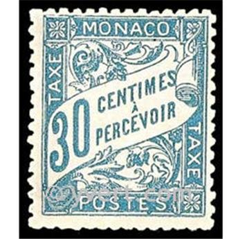 nr. 6 -  Stamp Monaco Revenue stamp