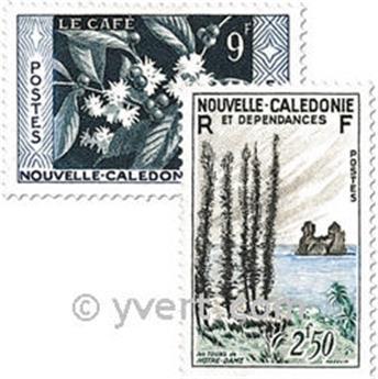 n° 284/286 -  Timbre Nelle-Calédonie Poste
