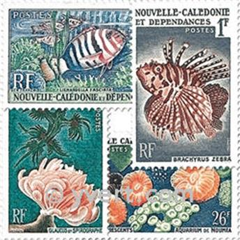 n° 291/294 -  Timbre Nelle-Calédonie Poste