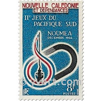 n.o 328 -  Sello Nueva Caledonia Correos