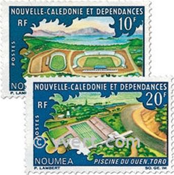 n° 337/338 -  Timbre Nelle-Calédonie Poste