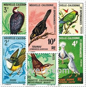 n.o 345/350 -  Sello Nueva Caledonia Correos