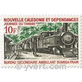n.o 372 -  Sello Nueva Caledonia Correos