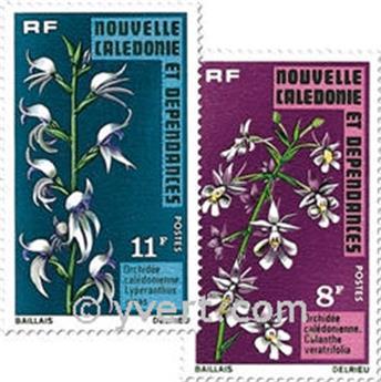 nr. 392/393 -  Stamp New Caledonia Mail
