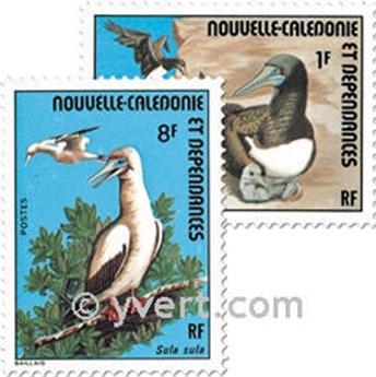 n.o 398 / 400 -  Sello Nueva Caledonia Correos