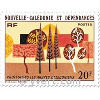 n.o 412 -  Sello Nueva Caledonia Correos
