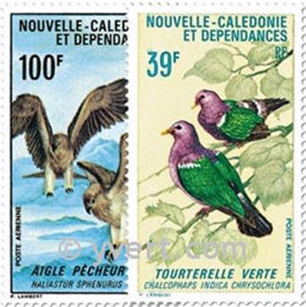 n° 110/111 -  Timbre Nelle-Calédonie Poste aérienne