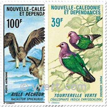nr. 110/111 -  Stamp New Caledonia Air Mail