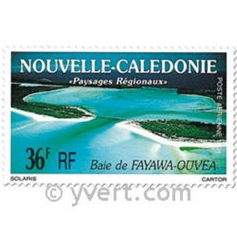nr. 276/277 -  Stamp New Caledonia Air Mail