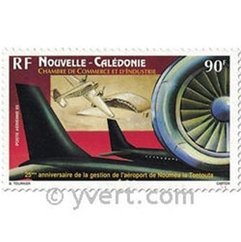 n° 308 -  Selo Nova Caledónia Correio aéreo