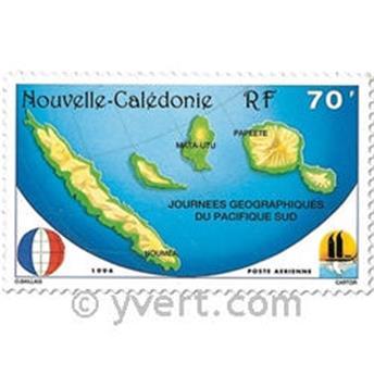 n° 312 -  Selo Nova Caledónia Correio aéreo