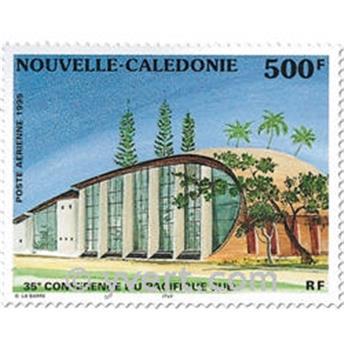n° 328 -  Selo Nova Caledónia Correio aéreo