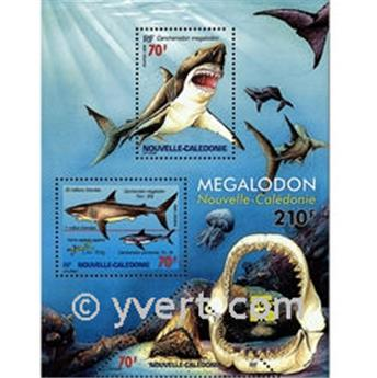nr. 21 -  Stamp New Caledonia Souvenir sheets