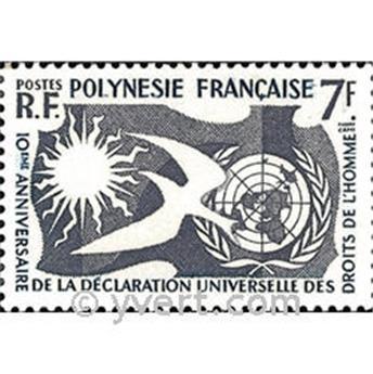 n° 12 -  Selo Polinésia Correios
