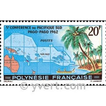 n° 17 -  Selo Polinésia Correios