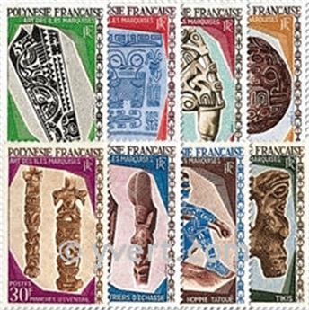n° 52/59 -  Timbre Polynésie Poste