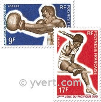 nr. 66/69 -  Stamp Polynesia Mail
