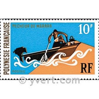 n° 82 -  Selo Polinésia Correios