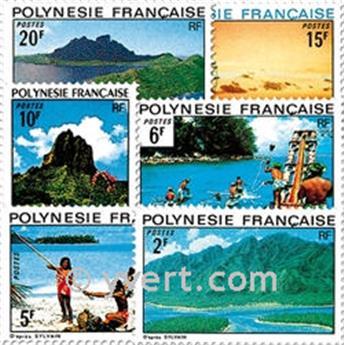 n° 97/102 -  Timbre Polynésie Poste