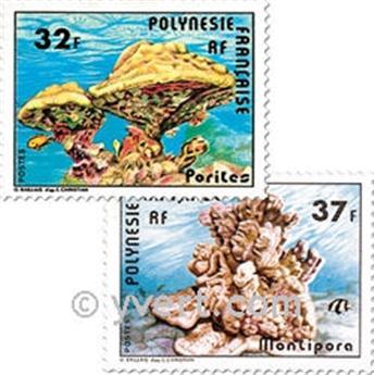 n° 130/131 -  Timbre Polynésie Poste