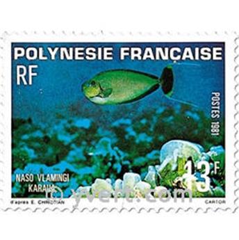 n.o 160/162 -  Sello Polinesia Correos