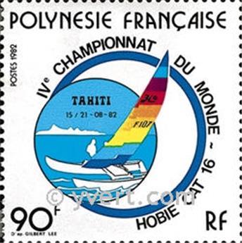 n.o 184 -  Sello Polinesia Correos