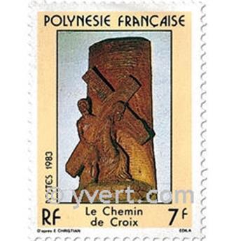 n° 195/197 -  Timbre Polynésie Poste