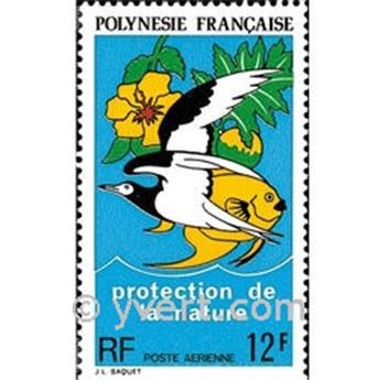 n° 82 -  Selo Polinésia Correio aéreo