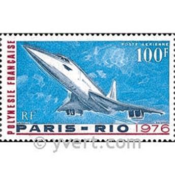 n° 103 -  Selo Polinésia Correio aéreo