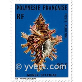 n° 114/116 -  Selo Polinésia Correio aéreo