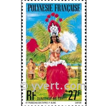 n° 124 -  Timbre Polynésie Poste aérienne