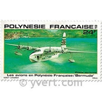 n° 148/152 -  Timbre Polynésie Poste aérienne
