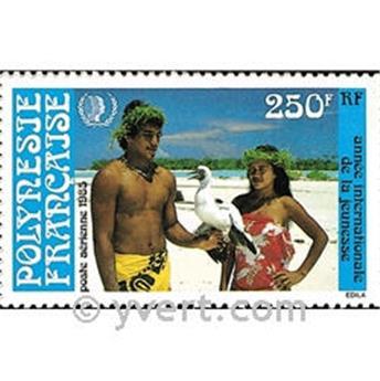 n° 188 -  Timbre Polynésie Poste aérienne