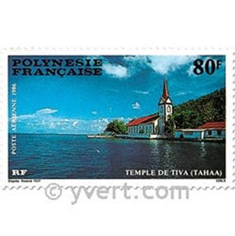 n° 193/195 -  Timbre Polynésie Poste aérienne