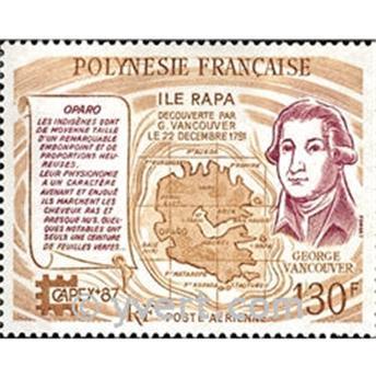 n.o 197 -  Sello Polinesia Correo aéreo