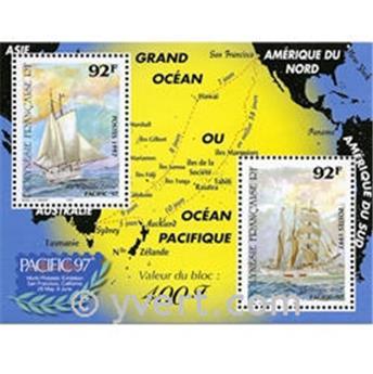 nr. 22 -  Stamp Polynesia Souvenir sheets