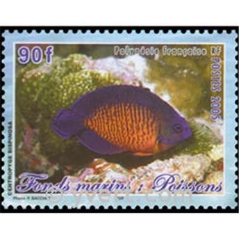 n° 31 -  Selo Polinésia Blocos e folhinhas