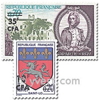 n° 386/387 -  Timbre Réunion Poste