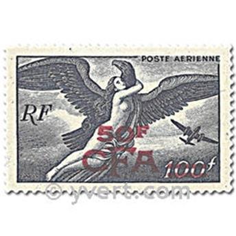 n° 45/48 -  Selo Reunião Correio aéreo