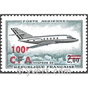n° 61 -  Timbre Réunion Poste aérienne