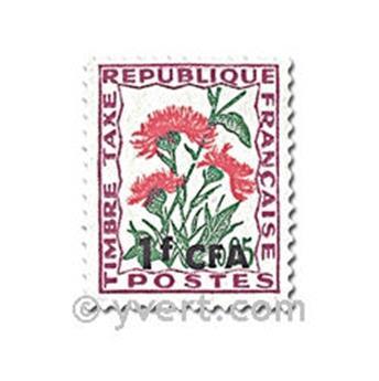 n° 48/53 -  Timbre Réunion Taxe