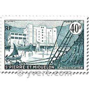 n.o 348/351 -  Sello San Pedro y Miquelón Correos