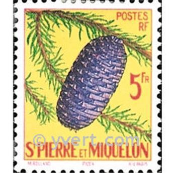 n° 359 -  Timbre Saint-Pierre et Miquelon Poste