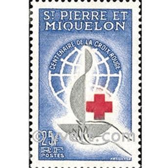 n° 369 -  Timbre Saint-Pierre et Miquelon Poste