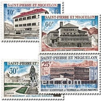 n.o 387/390 -  Sello San Pedro y Miquelón Correos