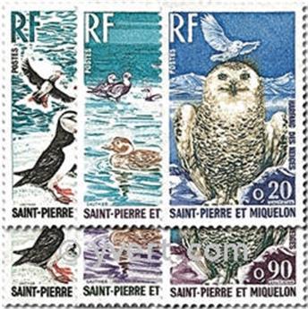 n.o 425/430 -  Sello San Pedro y Miquelón Correos