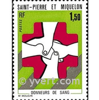 n.o 436 -  Sello San Pedro y Miquelón Correos