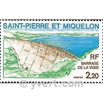 n.o 452 -  Sello San Pedro y Miquelón Correos